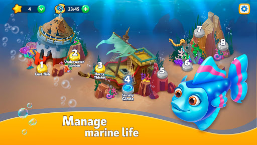 Sea Merge! Fish Aquarium Game & Ocean Puzzle  screenshots 3