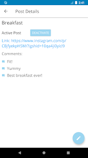 Auto Comment Screenshot