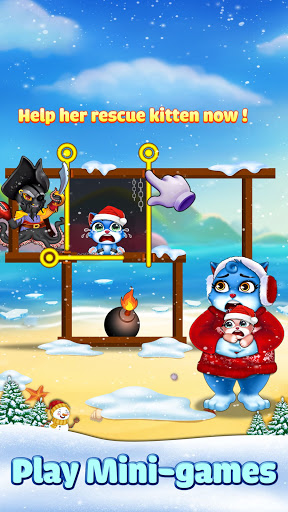 Cat Pop Island: Bubble Shooter Adventure modiapk screenshots 1