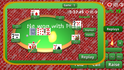 BlueTooth Poker 8 - Texas Holdem Game android2mod screenshots 8