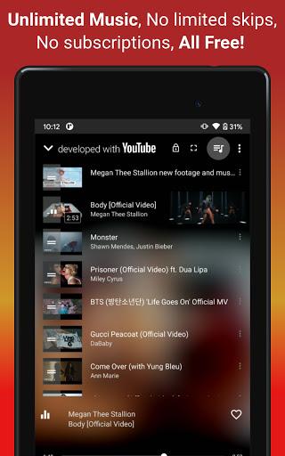 Video, Download, Music Free Player, MP3 Downloader apktram screenshots 11