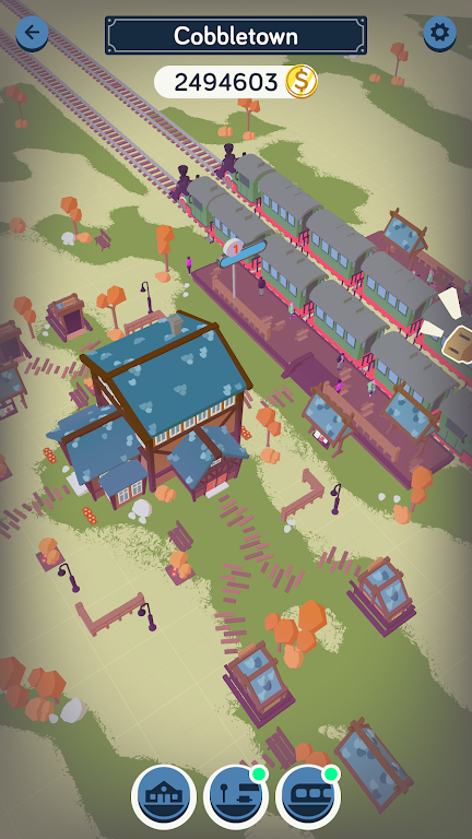 Train Station Idle Tycoon  poster 6