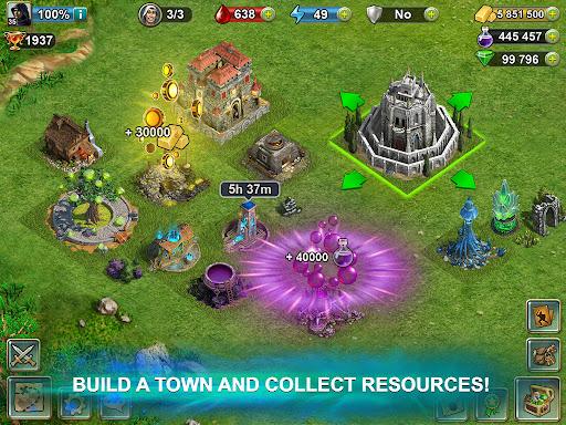 Blood of Titans: Quest & Battle Fantasy ccg 1.19 screenshots 11