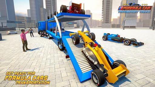 Formula Car Transport Truck: Cruise Ship Simulator 7.6.5 screenshots 3