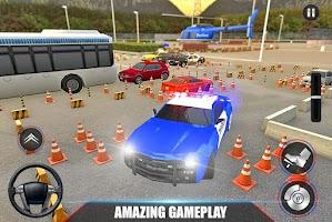 Modern Police Car Parking 2021: Car Parking Games