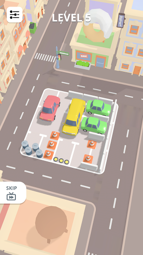 u200eCar Parking Puzzle - City Game android2mod screenshots 1