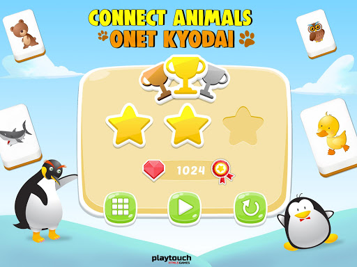 Connect Animals : Onet Kyodai (puzzle tiles game)  screenshots 10