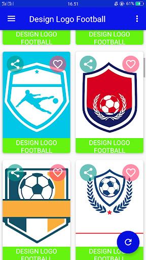 Design Logo Football 1.1 screenshots 2