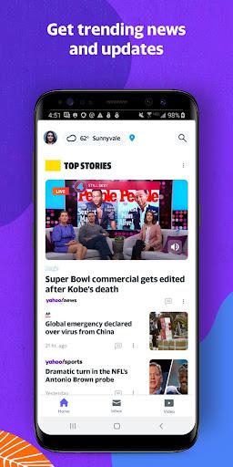 Yahoo - News, Mail, Sports Apkfinish screenshots 6