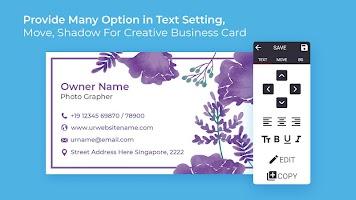 Business Card Maker Free Visiting Card Maker photo