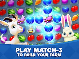Farm Slam - Match 3, Build & Decorate Your Estate
