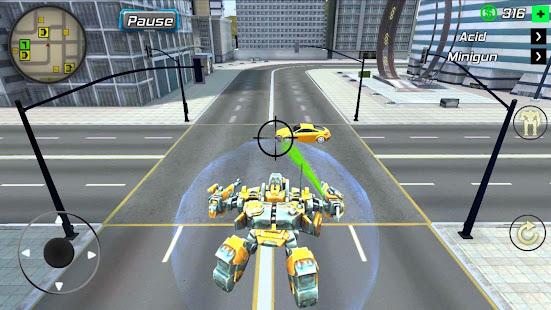 Super Crime Steel War Hero Iron Flying Mech Robot apk