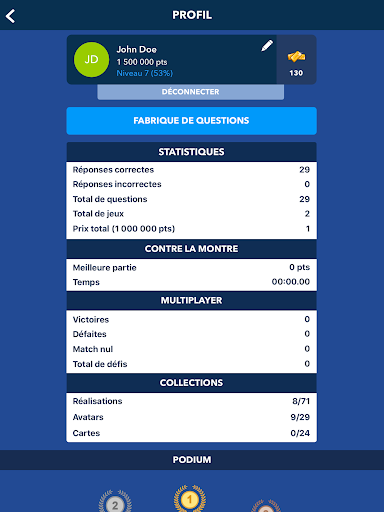 Super Quiz - Culture Gu00e9nu00e9rale Franu00e7ais android2mod screenshots 16