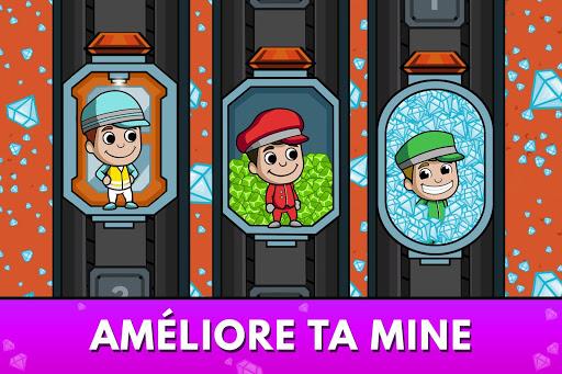 Code Triche Idle Miner Tycoon - Manager de Mine (Astuce) APK MOD screenshots 3