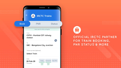 Goibibo - Hotel Car Flight IRCTC Train Bus Booking 10.4.3 screenshots 8