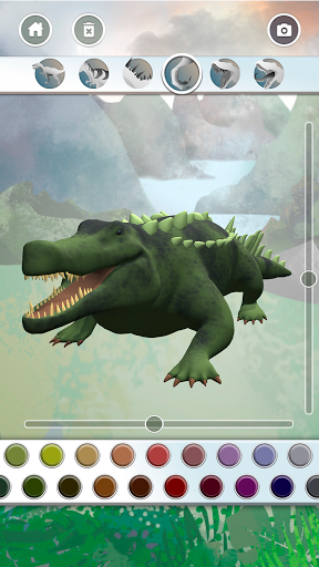 Dinosaurs 3D Coloring Book modavailable screenshots 6