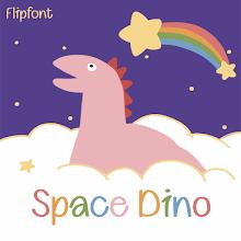 NmSpaceDino™ Latin and Cyrillic Flipfont Download on Windows