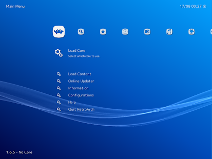 RetroArch Plus Screenshot