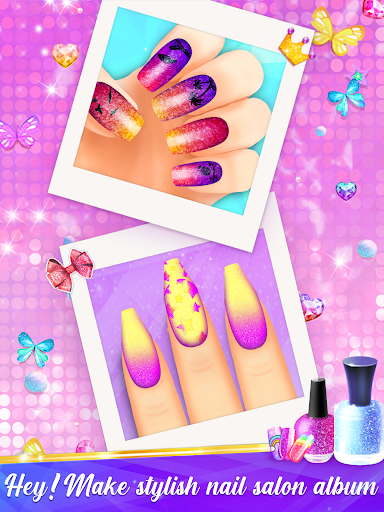 Nail Salon Manicure - Fashion Girl Game apkmr screenshots 11