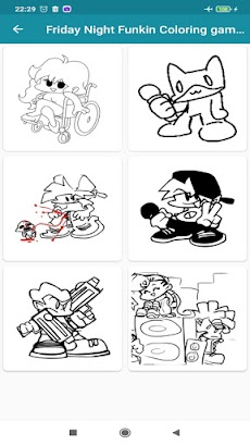 FNF - Coloring Game for Friday night funkinのおすすめ画像3