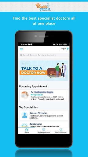 Health Gennie - Healthcare at Home 1.5.2 Screenshots 2