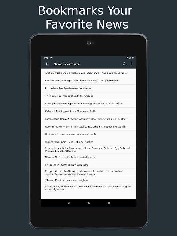 Science News Daily: Science Articles and News App  poster 18
