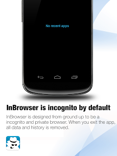 InBrowser – Incognito Browsing Apk Son Sürüm 2021 5