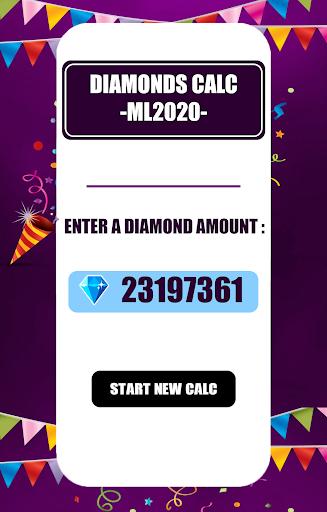 Free Diamonds Counter for Mobile Legendssu2122 | 2020 1 Screenshots 1