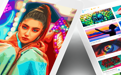 April Coloring - Oil Painting & Color by Number 2.75.1 Screenshots 8