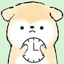時計ウィジェット アニマルライフ時計