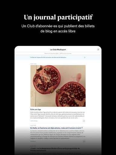 Mediapart, journal indu00e9pendant  Screenshots 14