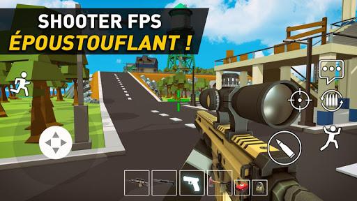 Code Triche Pixel Danger Zone :  Battle Royale APK MOD (Astuce) screenshots 1