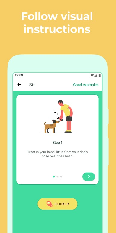 Dog & Puppy Training App with Clicker by Dogo  poster 4