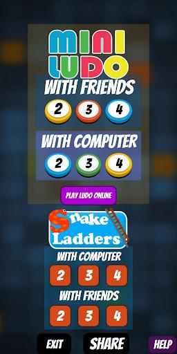 Mini Ludo : Free Board Games Ashta Chama sap-sidi 4.4 screenshots 4
