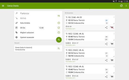 Train Timetable Italy  Screenshots 8
