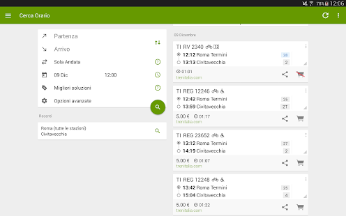 Train Timetable Italy 8.18.20 Screenshots 10