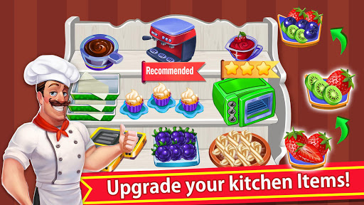 cooking crazy fever: crazy cooking new game 2021 screenshot 3