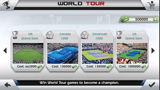 Fiske Tenisi 3D – Tennis Apk İndir 5