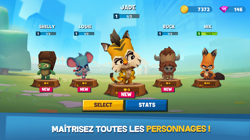 Code Triche Zooba: Bataille multi-joueurs en ligne (Astuce) APK MOD screenshots 2