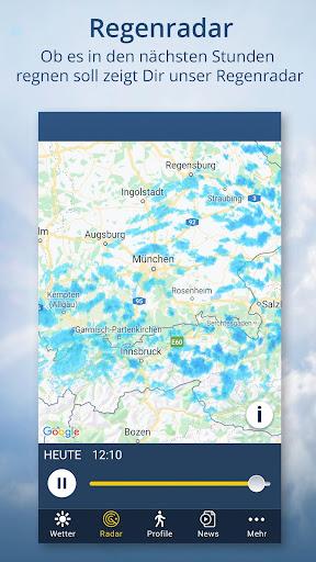 wetter.de u2013 Dein Wetter, immer & u00fcberall android2mod screenshots 5