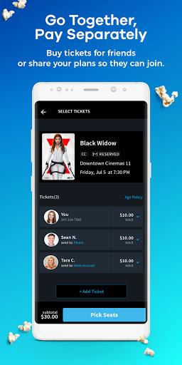 Atom - Movie Tickets & Times apktram screenshots 4