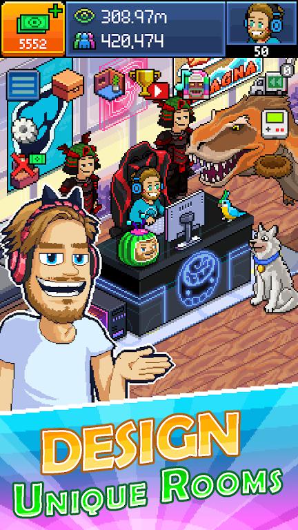 PewDiePie's Tuber Simulator MOD poster 0