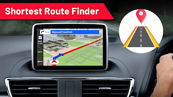 GPS Navigation: Live Earth Map & Route Planner