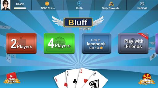 Bluff : Cards Game 1.0 screenshots 1