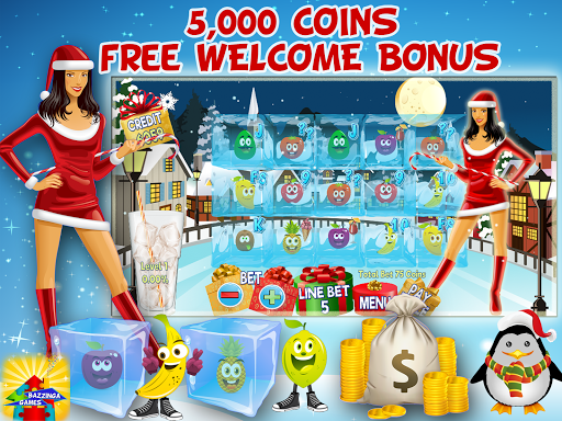 frosty christmas free slot screenshot 3