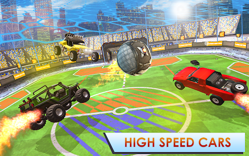 Rocket Car Football Turbo League screenshots 1