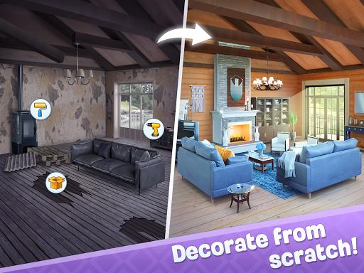Merge Design: Home Renovation & Mansion Makeover 1.6.2 screenshots 9