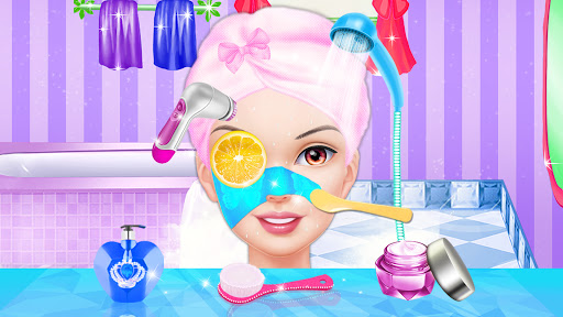 Makeover Games: Fashion Doll Makeup Dress up  screenshots 1