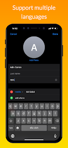 iContacts Mod Apk– iOS Contact (Pro Features Unlocked) 7