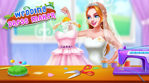 ud83dudc92ud83dudc8dWedding Dress Maker - Sweet Princess Shop apkslow screenshots 1